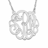 Sasha Sterling Gold Plated Small Monogram