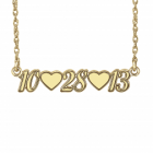 "Sasha Sterling ""Date"" Necklace"