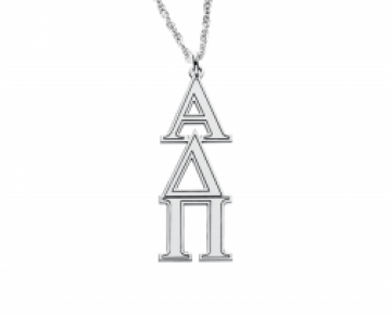 Sasha Sterling Sorority Necklace Vertical