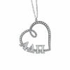Sasha Sterling Sorority Necklace Heart