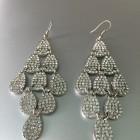 Chantelle Chandelier Silver Earring