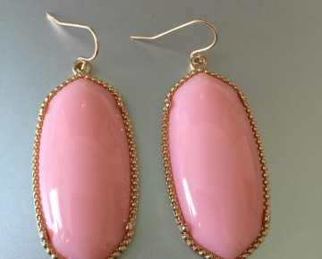 Abby Stone Earring Pink