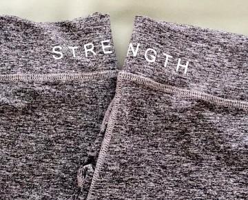 GoodHyouman Activewear Leggings Strength Crop