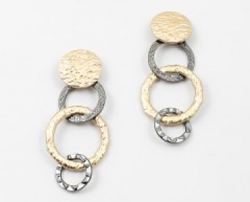 Samantha Statement Chainlink Earrings