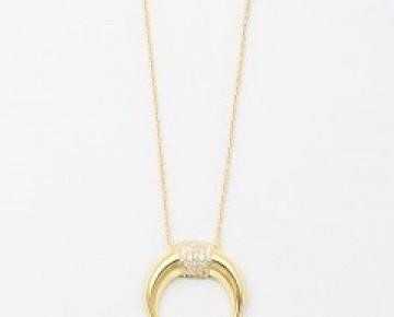 Sasha Sterling Italian Horn Long Necklace