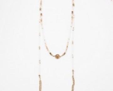 Bri Boho Beaded Wrap Necklace