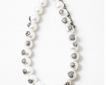 Samantha Statement Pearl Necklace