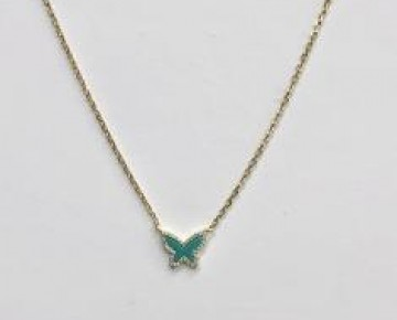 Sasha Sterling Turquoise Butterfly