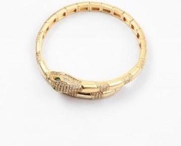 Sasha Sterling Serpent Bracelet Silver