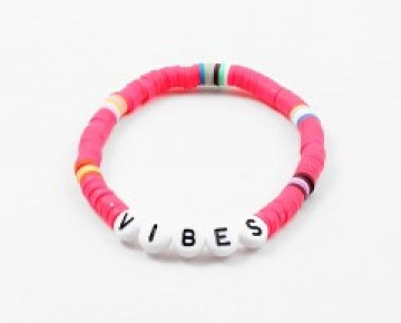 Abby Beaded Camp Inspired Friendship Bracelet Vibes