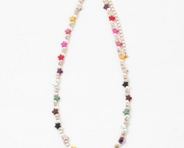 Bri Beaded Star Necklace